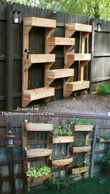 For the front fence