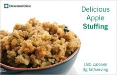 Apple Stuffing #ThanksgivingRecipes #softfoodrecipes