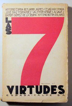 LAS 7 VIRTUDES - Madrid 1931 - Llibres del Mirall