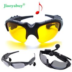 Find More Earphones & Headphones Information about Jiaoyabuy Wireless Sport Stereo Bluetooth Sunglasses Night Glasses Headset Earphone Headphone +2pcs Night Sunglass Lens ,High Quality headphones free shipping,China earphone headphone Suppliers, Cheap glasses headset from DX Wholesale store on Aliexpress.com