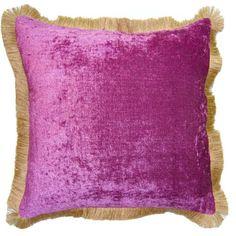 Acapulco Jute Fringe Pillow - LIST PRICE: $275 - MACK PRICE: $219