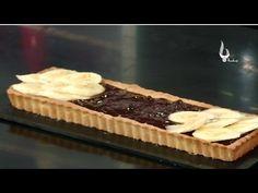 Patisserie Fine : Tarte Au Banane a La Ganache - Benna tv   باتيسري : تارت بالموز - قناة بنة - YouTube