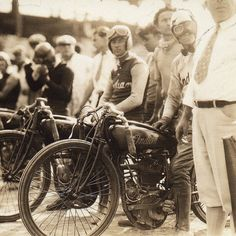 1938: The first Sturgis Motorcycle Rally, known as the Black Hills Classic was held on August 14th with a race of nine riders. We've got dirt track action this year too - see our custom Chieftain on Lazalle St. #Sturgis75 #Sturgis2015