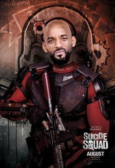Deadshot Suicide Squad Poster Standup 4inx6in
