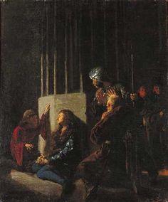 Leon Wyczółkowski - St. Kasimir and Jan Dlugosz