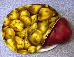 Microwave Potato Bag tutorial
