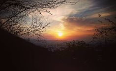#sunrise #sunrays #early #morning #walk #neemach #mata #blissful #joyous #calm #peace #like4like #follow4follow #followme by vikaas_gaur