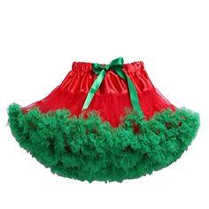 Tortoise & Rabbit Girl's Clothing Fluffy Dancing Princess Tutu Skirt (S, Red Green) Tortoise & Rabbit http://www.amazon.com/dp/B00RXZYFLK/ref=cm_sw_r_pi_dp_VZCcxb18VH418