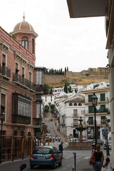 The old city of Antequera, Andalucía, Spain. http://www.costatropicalevents.com/en/costa-tropical-events/andalusia/welcome.html