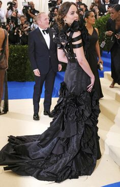 See Every Met Gala 2017 Gown From the Back - Dakota Johnson in Gucci