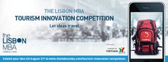 The Lisbon MBA and Turismo de Portugal launch a worldwide competition - The Lisbon MBA 01.07.2015 | The Lisbon MBA and Turismo de Portugal jointly launched a worldwide competition of ideas and technology – the Tourism Innovation Competition – which will reward the most innovative solution to measure the behavior of tourists in the countries and / or cities they visit. The competition aims to help design the behavior of tourists and simultaneously promote innovation... #portugal #travel…