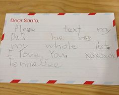 """15 Hilarious letters to Santa - """"You BETTER bring my pony this year, or there WILL be consequences."""" Hahahaha!"""
