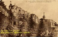Vieil Alger : la mosquée Djamâ Djedid , petite mosquée, mosquée de la Pêcherie