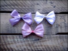 """Girls #hairbow #hairclip #girls #babygirl """"Simply Satin"""" #hairaccessories  Many Colors By Little Ms Magnolia"""