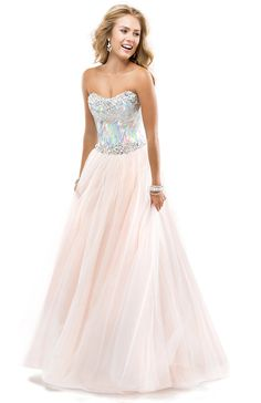 124ce58f649 Sexy Ball Gown Sweetheart Floor-length Sleeveless Sequin Beading Tulle Pink Prom  Dress Market Price  Our Price
