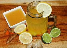 It is highly recommended to start your day with lemon and water on an empty stomach upon rising to improve digestion, liver function and to enjoy its wonderful anti-inflammatory properties. Here's more on why you should start your day with lemon and water. During a Reboot we suggest that you start your day with lemon and ginger so here is a spin in this old favorite which adds more punch. Turmeric and limes will also increase the wonderful anti-inflammatory, liver and digestive benefits…