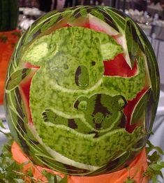 Koala watermelon art✋More Pins Like This At FOSTERGINGER @ Pinterest☝✋