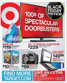 Target Black Friday 2013 Ad: Target black friday Deals & Sales!