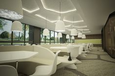 LIV HOSPITAL / ULUS / Render / CAFETERIA / By Zoom TPU