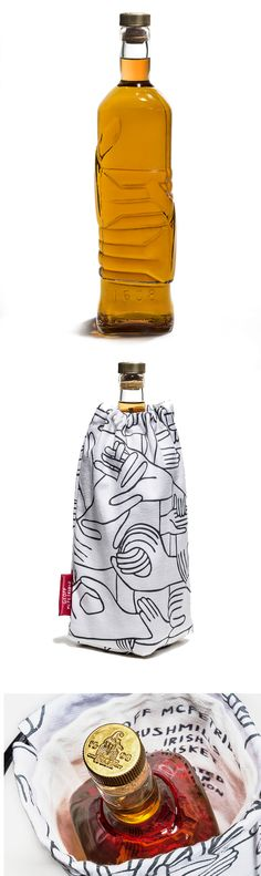 Limited edition decanter designed by Geoff McKittredge for Bushmills and made by Esque studio.