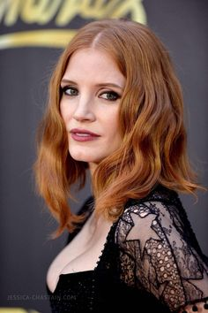 Apr 09 | 2016 MTV Movie Awards - Arrivals - HQ 033 - Jessica Chastain Network