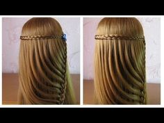 Chignon tressé facile ⭐︎ Tuto Coiffure simple cheveux mi long/long ⭐︎ Coiffure tresse en noeuds - YouTube