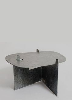 'Pierced Table' (1982) [last sold at auction in 2008 for £42,500]