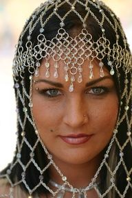 medieval headpiece -