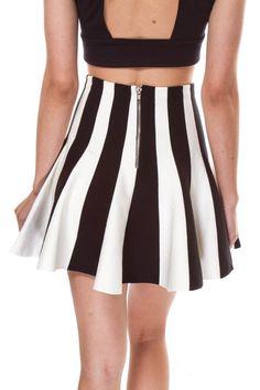 Ricci Skater Skirt - WOMEN - Foreign Exchange