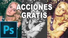 Acciones de Photoshop gratis en Español