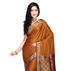 Silks golden silk heritage sarees saree draping mysore rmkv silks 4 1