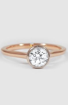 Luna Ring Rose Gold