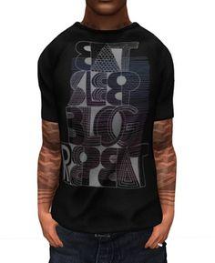 .:Gazump:. Blog Repeat Black Mesh Male T-Shirt V2