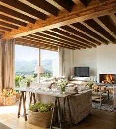 Un refugio muy cómodo con las mejores vistas · ElMueble.com · Casas