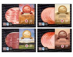 Packaging design for Wicks Manor Farm bacon and ham - Frontmedia Print and Graphic Design
