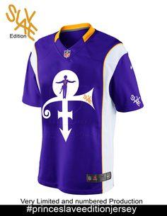 new concept b6ef6 87991 minnesota vikings prince jersey