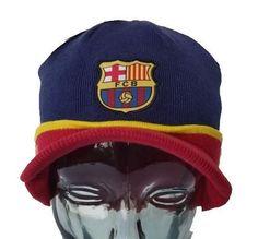 23573a826eb45 FC Barcelona Visor Red Beanie Cap Hat By Rhinox  Rhinox  FCBarcelona Messi  10