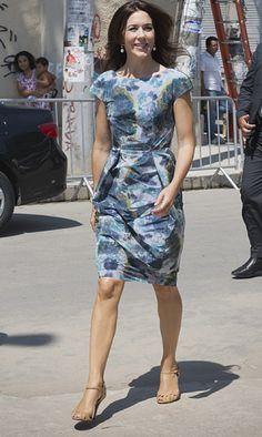 Crown Princess Mary in Signe B Jensen