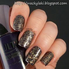 Wacky Laki: Bold Gold Stamping...best gold for stamping