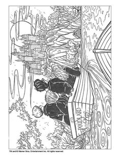 harry potter coloring pages - Google Search