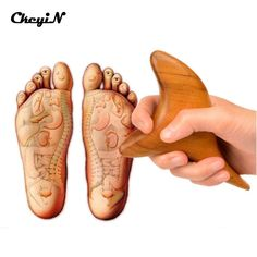 Trigeminal Body Massager Relax Wood Massager Reflexology Wooden SPA Therapy Massage Tool Acupressure Stick Health Care Wholesale