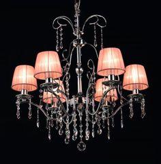 Chandelier with Swarovski and Murano glass Murano Glass, Luxury Furniture, Ceiling Lights, Lighting, Elegant, Chandeliers, Free, Home Decor, Classy