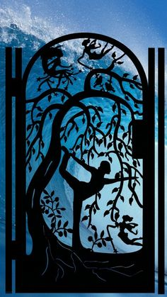 Image detail for -Here is a fabulous custom YOGA entry or garden gate with FACTORY ...