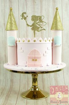 Cute castle cake                                                                                                                                                                                 More