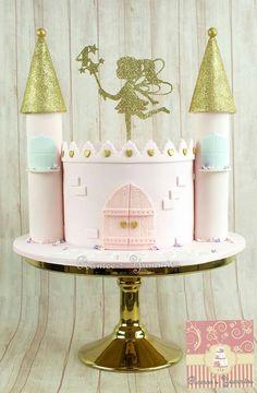Cute castle cake
