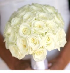 brudbukett vita rosor - Sök på Google
