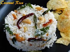 Ocean of Recipes Coconut Rice, Indian Food Recipes, Feta, Grains, Ocean, Cheese, Indian Recipes, The Ocean