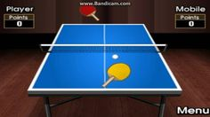 Mobi Table Tennis - Second Attempt