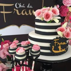 Birthday Decorations Kate Spade Ideas For 2019 30th Party, Boy Birthday Parties, 16th Birthday, Baby Shower Parties, Girl Birthday, Birthday Ideas, Kate Spade Party, 18th Cake, Chanel Party