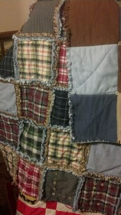 The Quilt Quilt Plaid And Plaid Flannel
